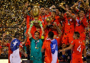 Chile campeon Copa Centenario9