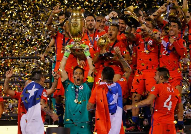 Chile campeon Copa Centenario9