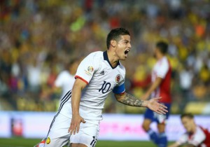 Colombia Paraguay James Rodriguez