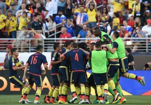 EE.UU vs Colombia