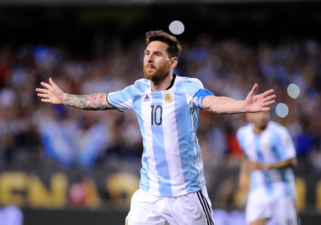 ... en la Copa y lideró goleada argentina ante Panamá » PrensaFútbol