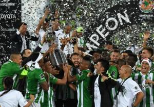Copa Libertadores Atletico Nacional Celebra
