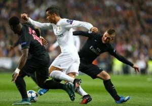 Marco Verratti Cristiano Ronaldo Madrid PSG
