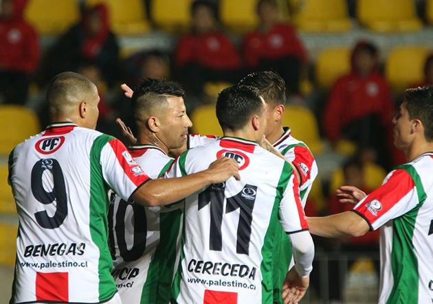 Palestino goleó a Coquimbo y tiene un pie y medio en segundo ronda ...