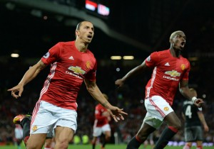 Manchester United Paul Pogba Zlatan Ibrahimovic2