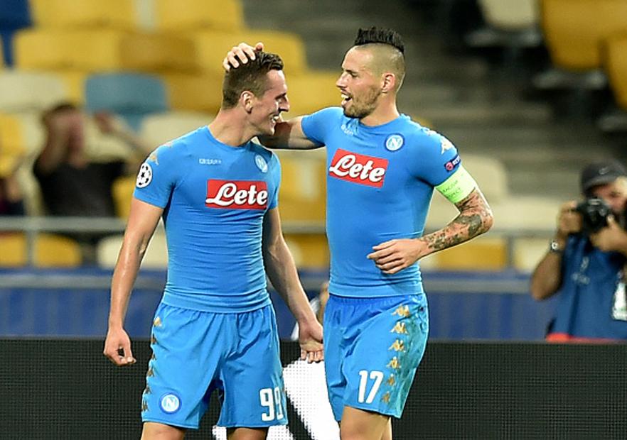 ... : Napoli lo dio vuelta y superó al Dínamo de Kiev » PrensaFútbol