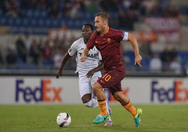 Totti - Roma v Astra