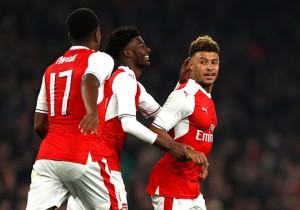 Arsenal vs Reading - Alex Oxlade-Chamberlain