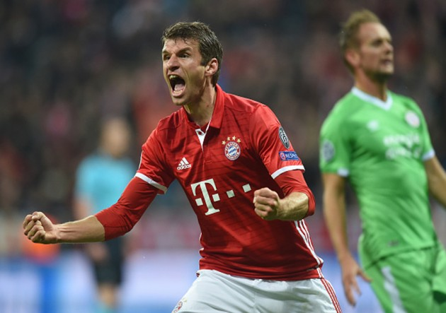 Bayern Munich vs PSV - Thomas Muller