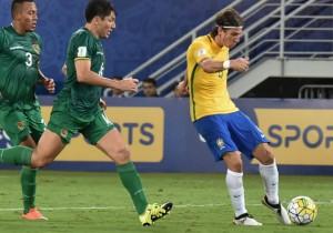 Brasil Bolivia_Filipe Luis