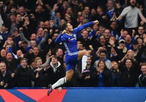 Chelsea vs Manchester United 4 - Eden Hazard