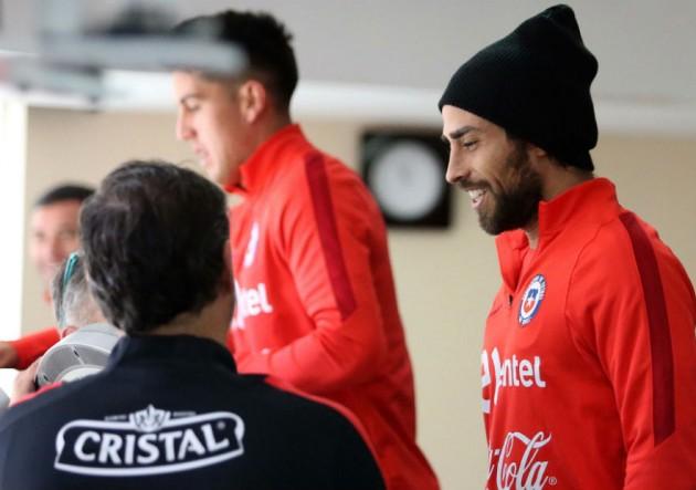Chile Ecuador entrenamiento_Valdivia_ANFP