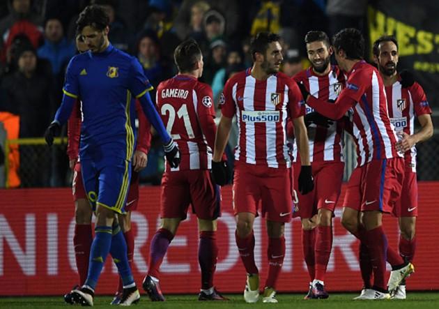 FK Rostov vs Atlético de Madrid