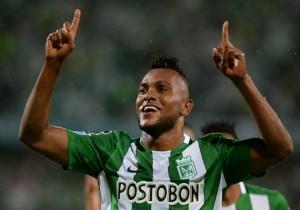 Miguel Borja_Atlético Nacional_Getty