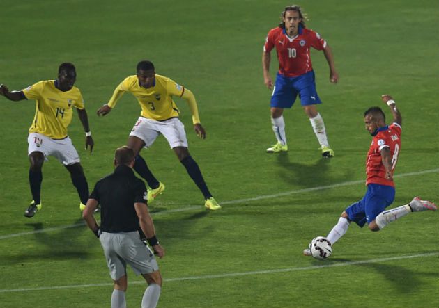 Vidal_Chile Ecuador_Getty