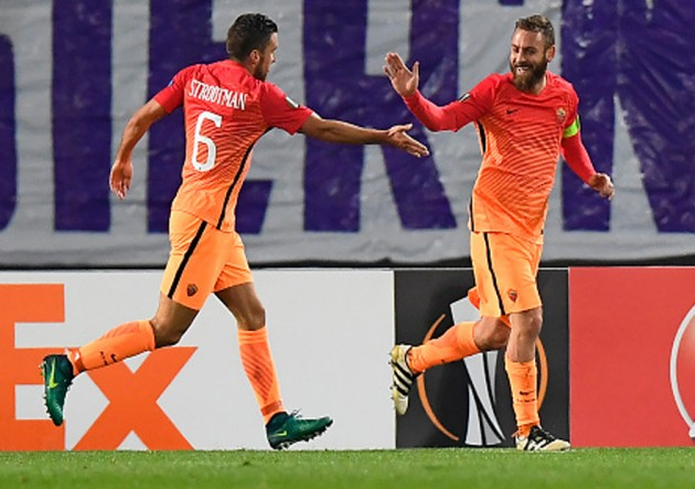 Austria Viena vs Roma - Europa League 2016