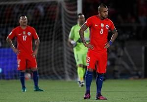 Chile vs Uruguay - Arturo Vidal - Clasificatorias