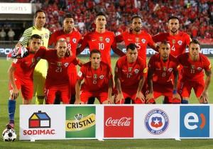 Chile vs Uruguay - Formación