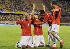Colombia vs Chile - Eliminatorias 2010