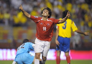 Colombia vs Chile - Eliminatorias 2010 - Jorge Valdivia