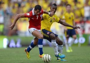 Colombia vs Chile - Eliminatorias 2014 - Alexis Sánchez