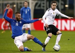 Italia vs Alemania