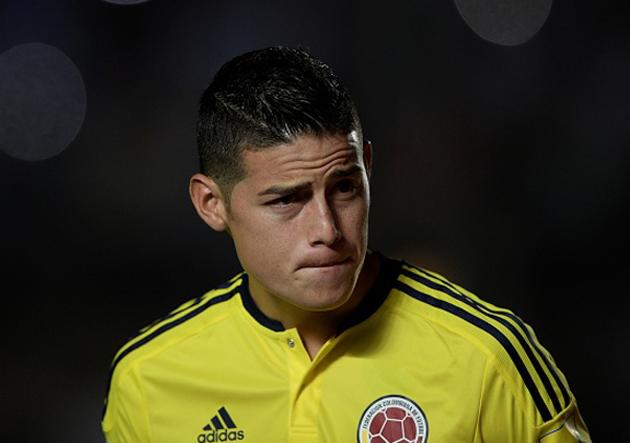 James Rodríguez - Argentina vs Colombia