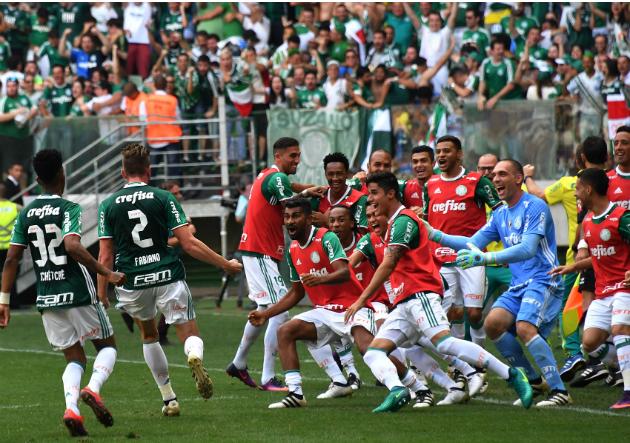 Brasileirao: Palmeiras se consagró campeón tras 22 años de espera