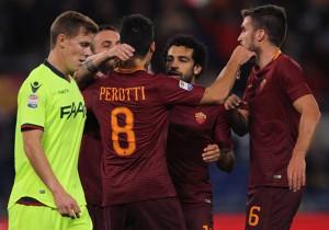 Roma vs Bologna - Serie A 2016
