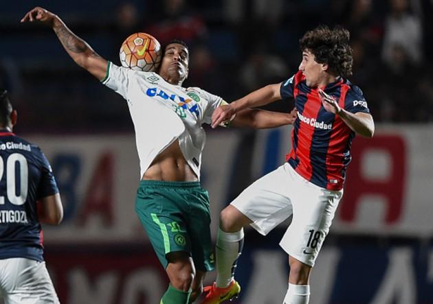 San Lorenzo vs Chapecoense 4 Corujo - Sudamericana 2016