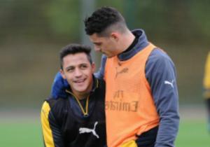 Arsenal_entrenamiento_Alexis_Sanchez_Xhaka_2016