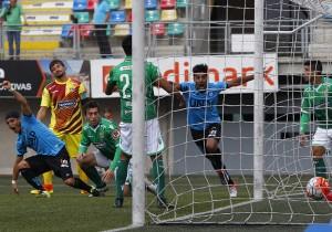 Audax Italiano vs Iquique, campeonato de Apertura 2016/2017.