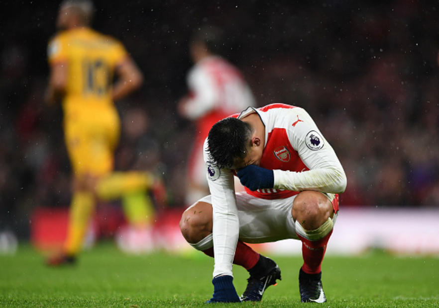 Arsenal_Crystal_Palace_Sanchez_lamento_2017_Getty