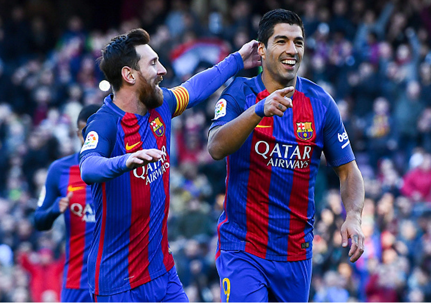 Barcelona_LasPalmas_Messi_Suarez_Getty