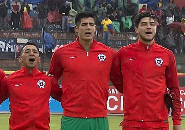 Chile vs Brasil, Sudamericano sub 20 Ecuador 2017.