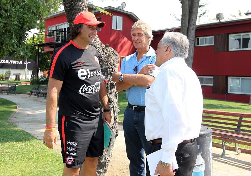 Entranamiento_Chile_ANFP_Pizzi_Salah_Pellegrini