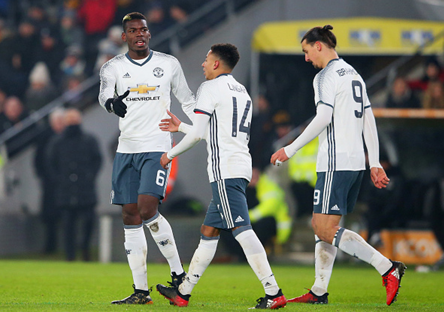 HullCity_ManchesterUnited_Pogba_Zlatan_CopaLiga_Getty