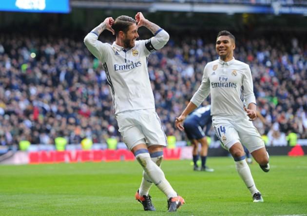 Rompe redes: Ramos sigue con su racha goleadora en el Real Madrid