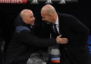 RealMadrid_Sevilla_Sampaoli_Zidane_Getty
