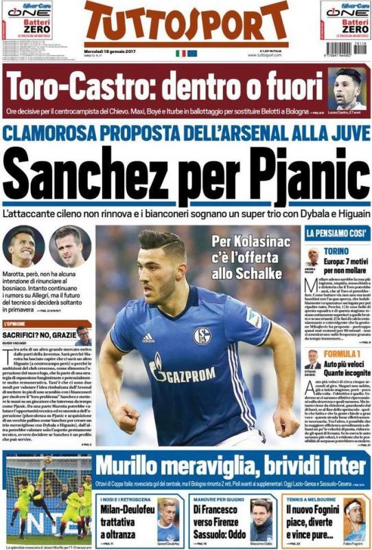 Sanchez_Pjanic_Arsenal_Juventus_Tuttosport