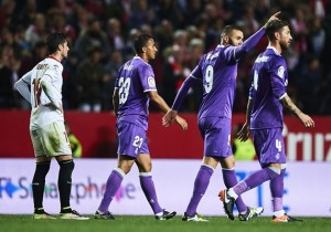 Sevilla v Real Madrid - Copa del Rey: Round of 16 Second Leg