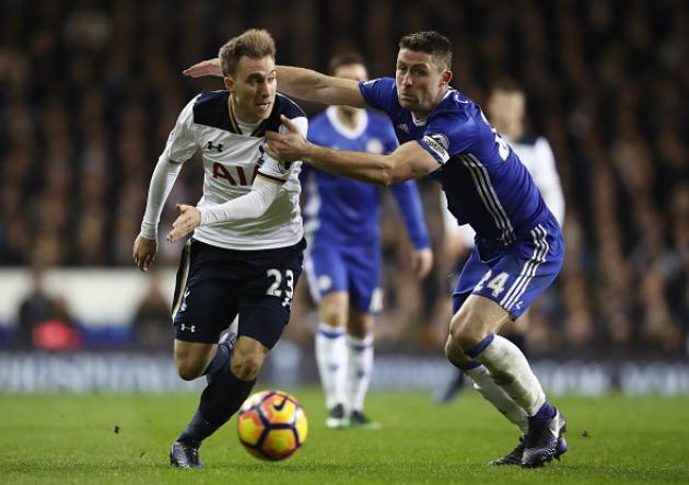 Tottenham_Chelsea_Eriksen_Cahill_2017_Getty