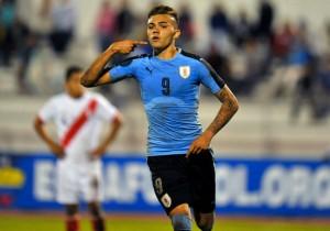 Uruguay_Peru_Sudamericano_Sub_20_Schiapacasse_2017_Getty