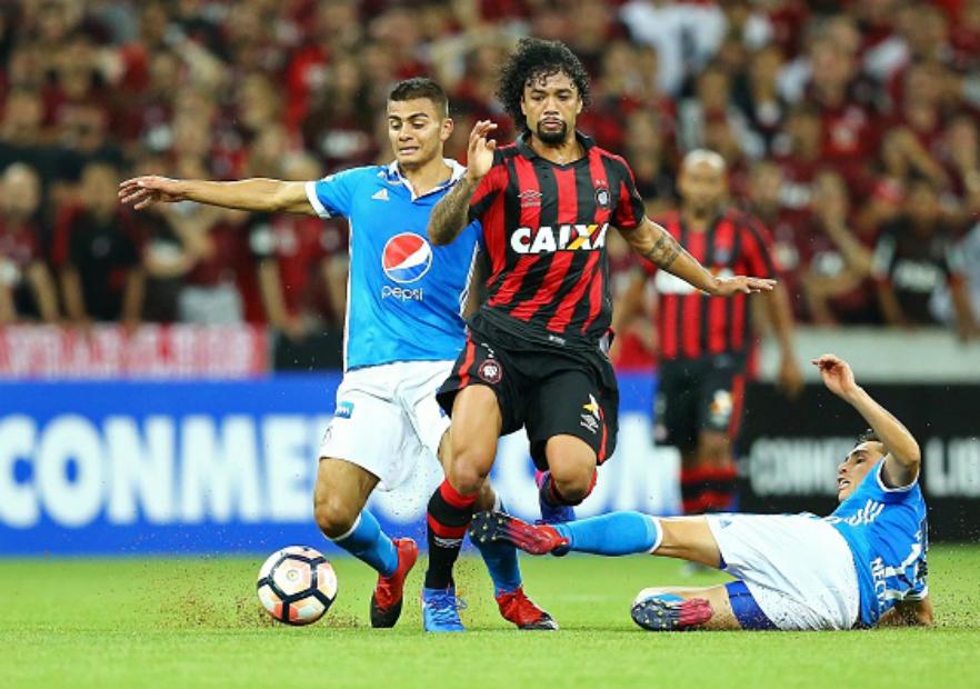 Atletico _Paranaense_Millonarios_Copa_Libertadores_2017_Getty