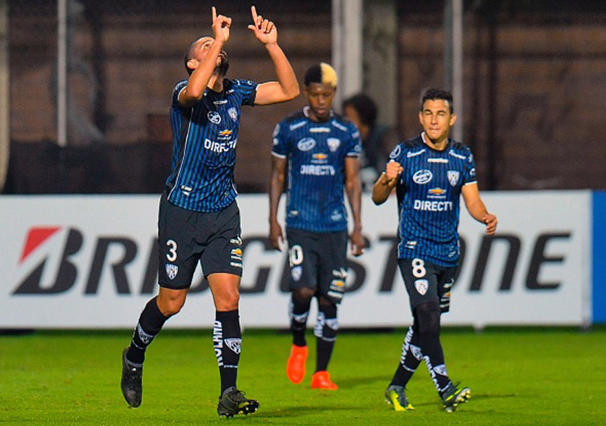 IndependienteDelValle_Olimpia_Libertadores_2017_Getty