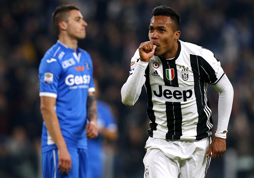 Juventus_Empoli_Alex_Sandro_SerieA_2017_Getty