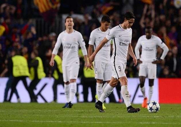 DT del PSG lanzó polémico mensaje durante entretiempo ante Barcelona — Unai Emery
