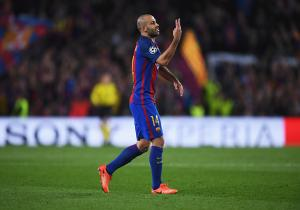 Barcelona_PSG_Mascherano_Champions_2017_Getty
