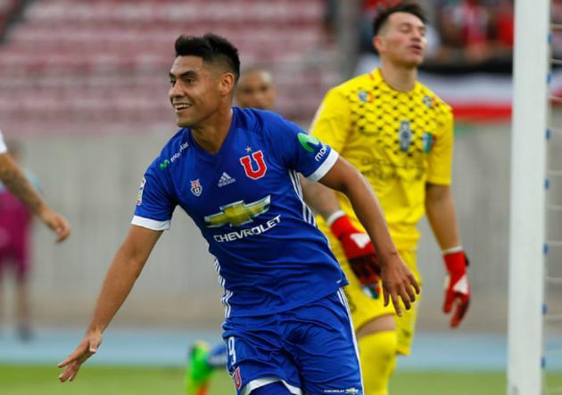 Felipe Mora: Me ilusiona jugar la Libertadores con Universidad de Chile