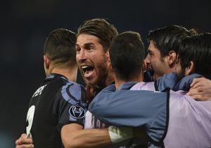 Napoli_RealMadrid_Ramos_Champions_2017_Getty